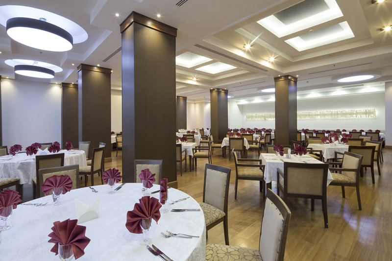 Korel Termal Hotel Kapalı Restaurant