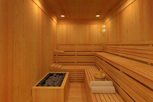 Sayeban Resort Otel Sauna